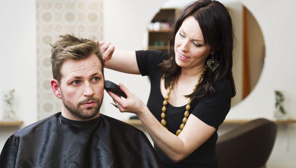 mens hair salon