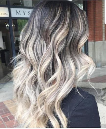 Type Of Highlights For Hair
