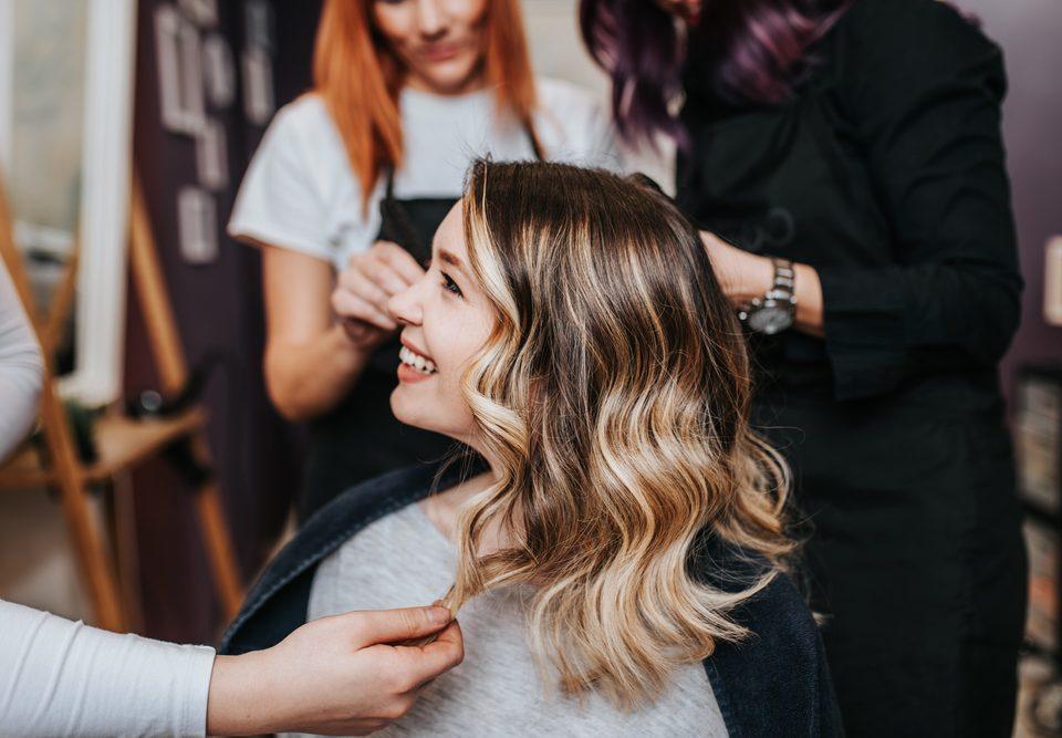 blowout hair salon